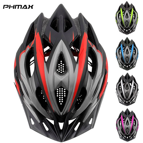 PHMAX 2020 Bicycle Cycling Helmet Ultralight EPS+PC Cover