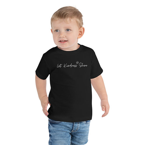 Black Toddler Short Sleeve Tee