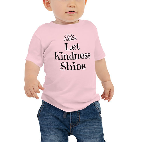Baby Let Kindness Shine Tee