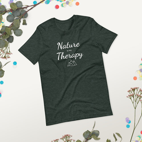 Nature is my Therapy Short-Sleeve Unisex T-Shirt