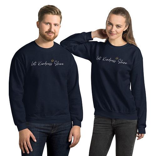 Unisex Sweatshirt - dark colors with white logo