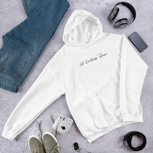 Unisex Hoodie - pastel colors and white