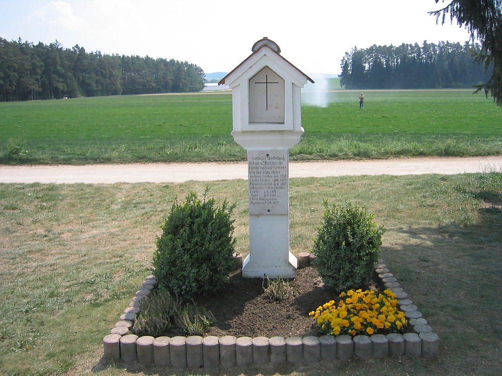 Memorial at Hinterkaifeck