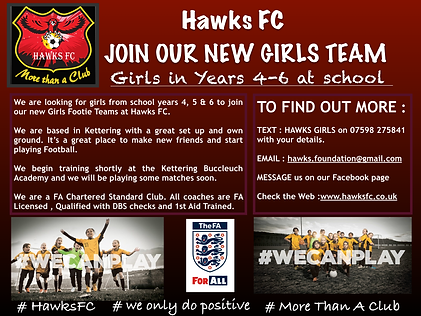 Hawks FC Girls Team Photo Advert.png