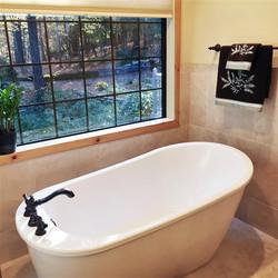 Bathroom renovation by Evans Residential