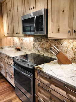 Kitchen renovation by Evans Residential