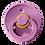 Thumbnail: Chupete Bibs, Lavender (Baby, 0-6 meses)