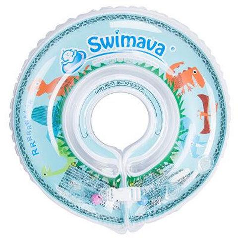 Aro flotador de Aprendizaje Swimava Diseño Dino + Pañal de Baño