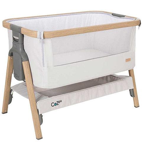 Cuna CoZee® Bedside Crib – Roble Silver - Crescente
