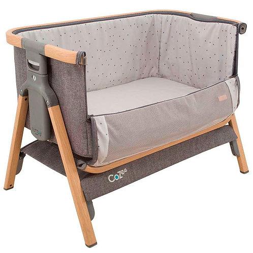 Cuna CoZee® Bedside Crib – Roble Grafito - Crescente