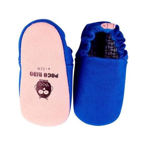 Zapatitos bebé y niño Poco Nido - Mini shoes Azul Plain blueball