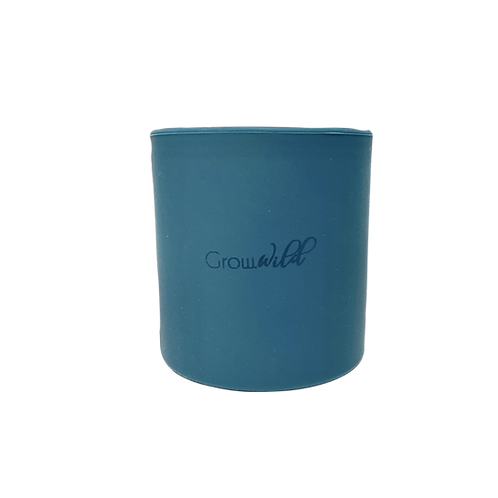 Vasito Grow Wild Azul petróleo