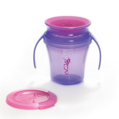 VASO WOW CUP JUICY BABY MORADO