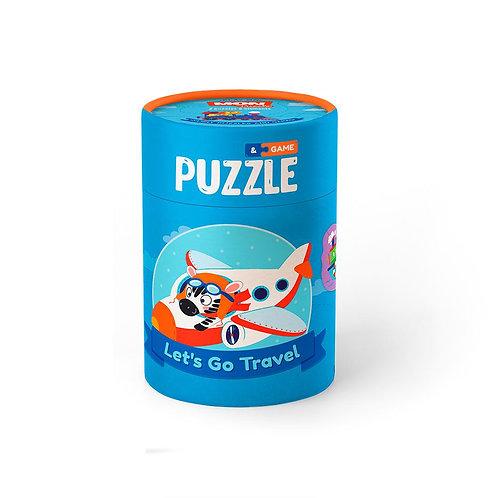 Juego y Puzzles 2-3 Elementos Viajes