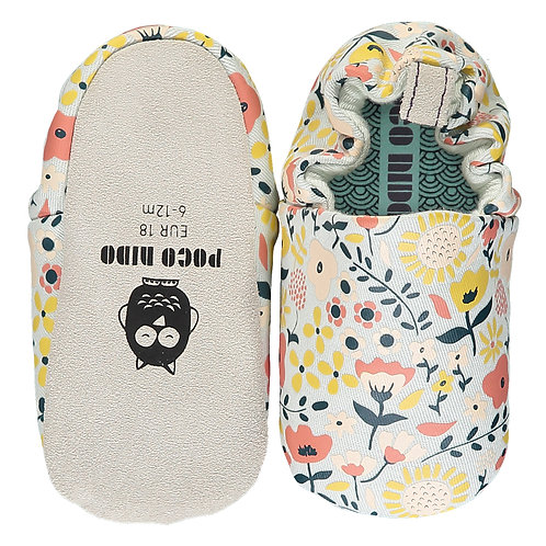 WILDFLOWERS CHALK MINI SHOES