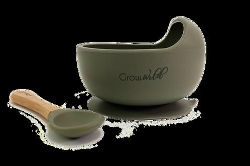 Bowl silicona Oliva GrowWild