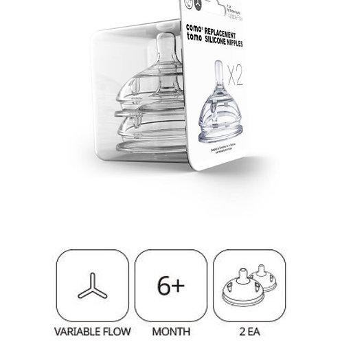 Tetina de repuesto ComoTomo - Variable Flow +6meses