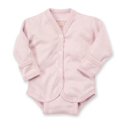 Body manga larga BabyCu Rosa