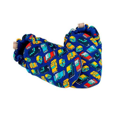 Zapatitos bebé y niño Poco Nido - Mini shoes Taxis