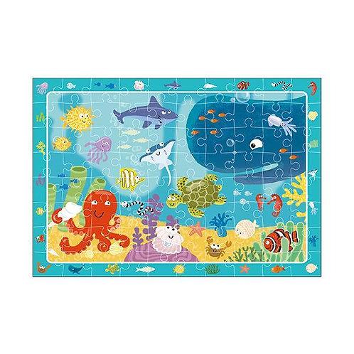 Puzzle Vida bajo el agua 80 piezas