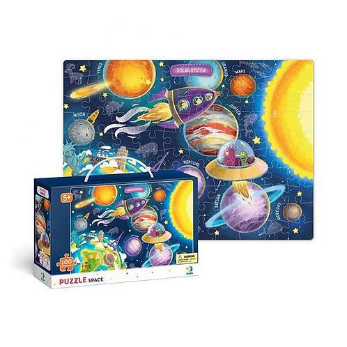 Puzzle Espacio 100 piezas