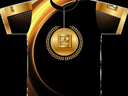 Brunswick Medalion -Blk/Gold XL (Sale Item)
