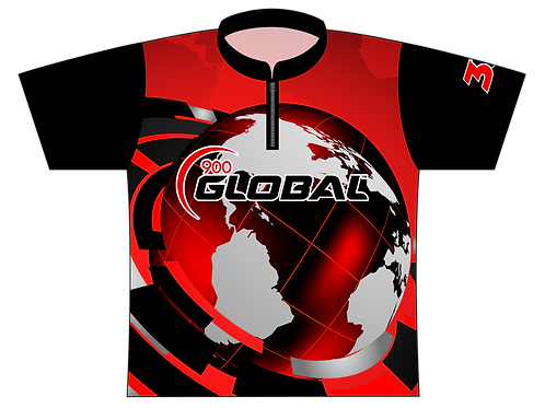 900 Global red/blk - Large size, sale Item