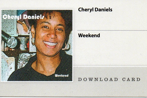 Weekend CD Download Card