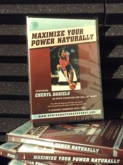 Maximize Your Power Naturally Instructional DVD