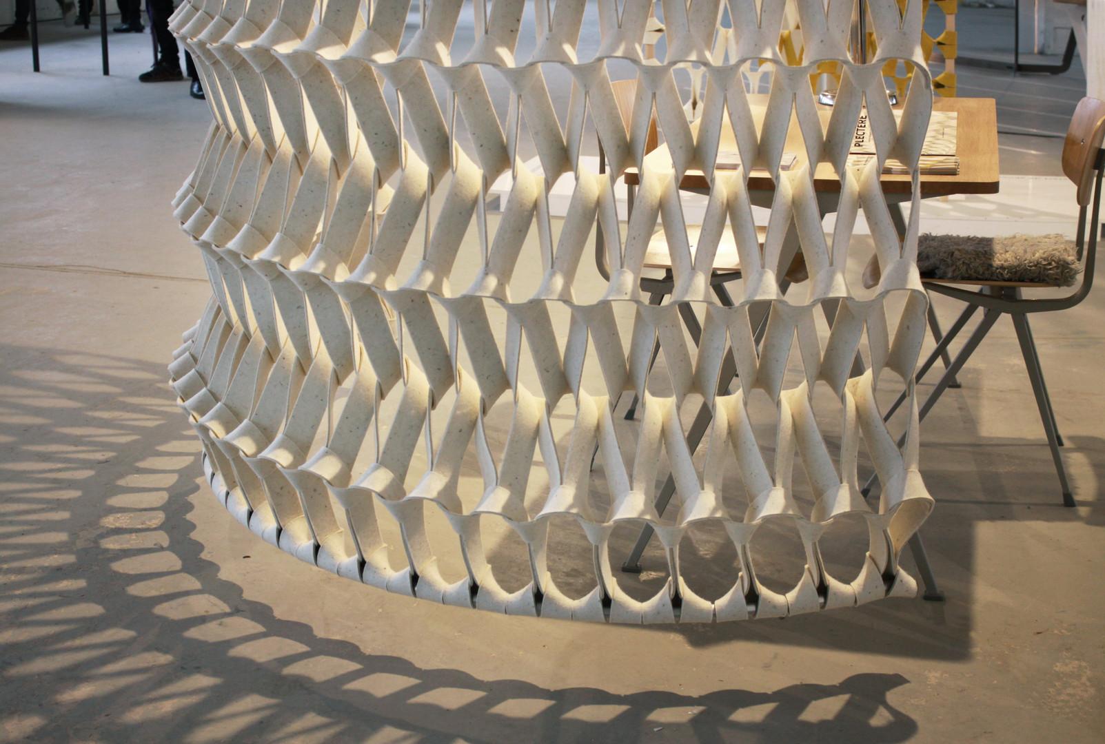 PLECTERE acoustic textile design curve_t