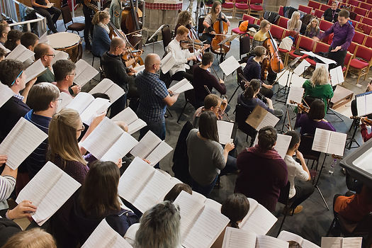 NEW Sinfonia string section and singers