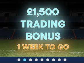 Trading Bonus - 2 Days Remaining