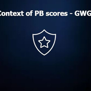 Context to PB Scores - GWG