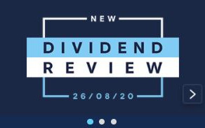 The Dividend Increase!