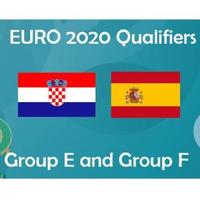 EURO 2020 - Group E & F