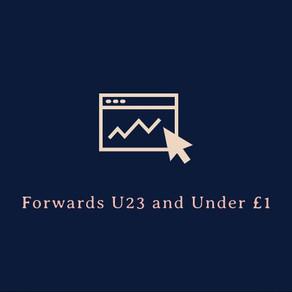 Value Forwards (Under 23+Under £1) 2019