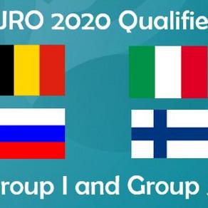 EURO 2020 Group I & J