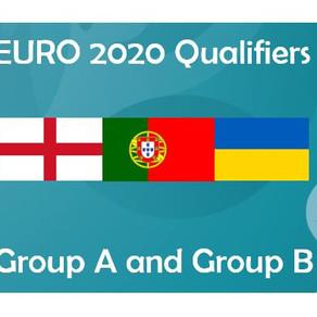 EURO 2020  - Group A & B