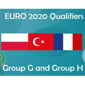 EURO 2020 Group G & H