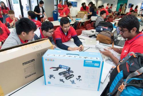香港科技大學舉辦的Hackathon,吸引來自世界各地的工程好手齊聚一堂