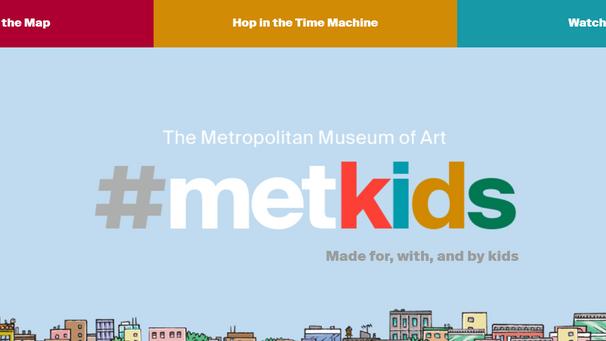紐約大都會藝術博物館#metkids免費兒童專區 帶孩子同步美國頂級藝術