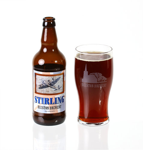 Stirling - Case of 12 500ml Bottles -  4.5% ABV