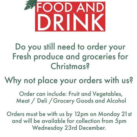 Christmas Groceries
