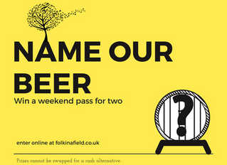 Competition - Name Our Festival Beer - Competition Closed