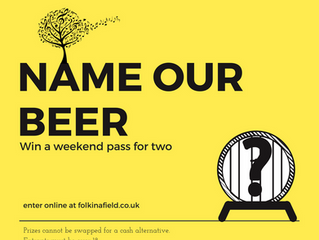 Competition - Name Our Festival Beer