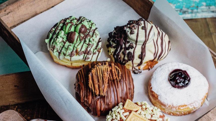 Father's Day Gourmet Doughnut Box of Six