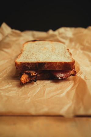 Man Made Food Bacon Sandwich .JPG
