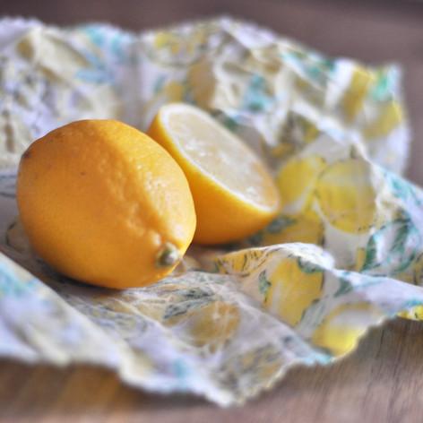 Lemon Food Wrap