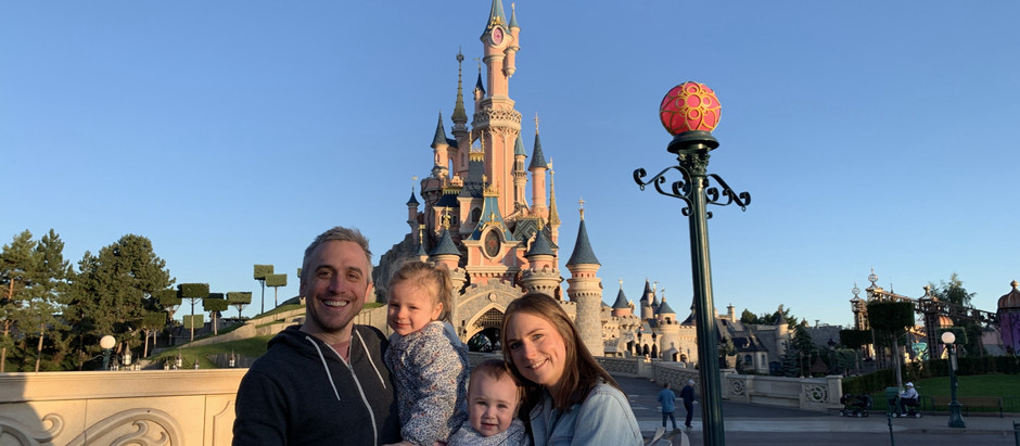 Disneyland Paris with two children under three