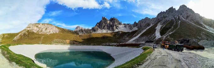 TenCate Geo - Axamar ski resort